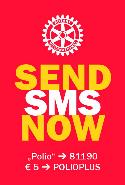 Polio Charity SMS